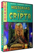 Historias de la Cripta Temporada 1  -  Tales from the Crypt Season 1 - 2 DVD