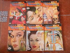 LAGRIMAS RISAS AMOR YESENIA set 6 comics YOLANDA VARGAS DULCHE rubi LOVE TEARS