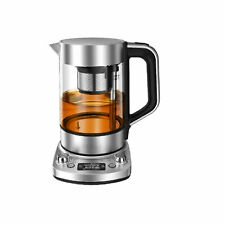 Severin WK 3422 Tee- und Wasserkocher Automatik Deluxe Glas 1,7 L 3000 Watt