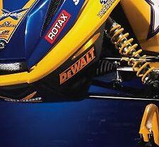 skidoo rev dewalt nose cone decal sticker x team xps nsk racing hood 600 rs 440