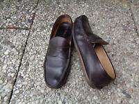 PRADA Herren Leder Schuhe Größe 10,5 ( 45 ) Braun