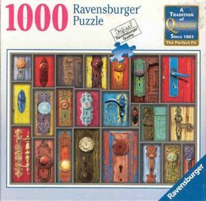 Howard Broward Ravensburger Jigsaw Puzzle Antique Doorknobs