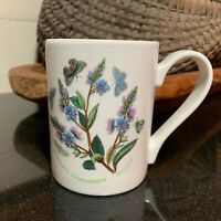 "Portmeirion Botanic Garden 4 1/8"" Mug Speedwell Made in England - Excellent"