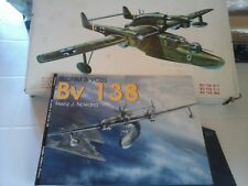 BHLOM UND VOSS BV138 1/72 SCALE SUPER MODEL+BOOK BV 138 SCHIFFER PUBLISHER EDITI