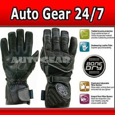 Oxford Motorcycle Motor Bike Hybrid Leather Gloves Sml
