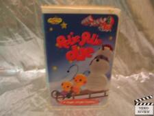Rolie Polie Olie A Jingle Jangle Holiday VHS Large Case Animated