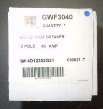 Cutler Hammer Gwf3040 3 Pole 40 Amp Circuit Breaker