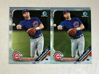 NICO HOERNER LOT OF 2 2019 Bowman Chrome RC's #BCP-59! CUBS! CHECK MY ITEMS!
