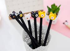3 x Cute kitten cat fine point pen Party Cute Kids novelty stationery Kawaii