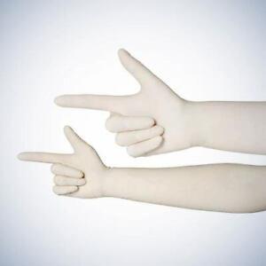 Latexhandschuhe extra lang 48 cm, 480 mm, (40 Stück)