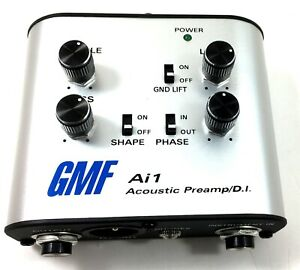 GMF Preamp & DI Analog Acoustic Guitar Instrument Practice Amp headphone Jack