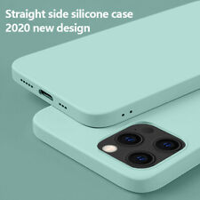 For iPhone 12 11 Pro Max 12 Mini SE 2020 Shockproof Liquid Silicone Case Cover