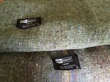 Vintage Wool Tweed Fabric 2-3/4 yds Unused Handloomed McNutt Donegal Ireland