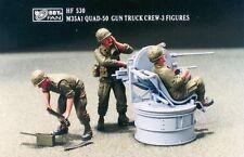 Hobby Fan 1/35 HF-530 US M35A1 QUAD-50 Gun Truck Crew (Vietnam War) - 3 Figures