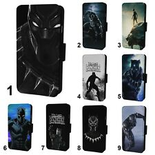 Black Panther Superhero Flip Phone Case Cover - Fits Iphone