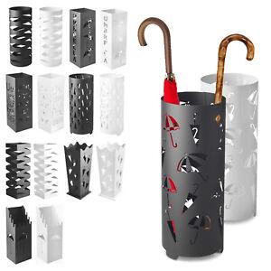 Umbrella Holder Stand Metal Home Storage Rack Walking Stick Rain Water Drip Tray