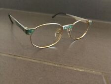 VINTAGE MCM MÜNCHEN 30 COL 01 ROUND GREEN SUNGLASSES FRAME MADE IN GERMANY