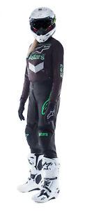 NEW ALPINESTARS 2021 FLUID CHASER RACE KIT BLACK MINT MX MOTOCROSS SUIT BMX MTB