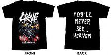 GRAVE - Youll Never See - T-Shirt - Größe Size XXL - Neu