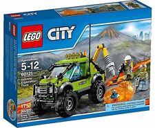 LEGO 60121 VEHÍCULO DE EXPLORACIÓN VOLCÁNICA (SERIE CITY). NUEVO EN CAJA.