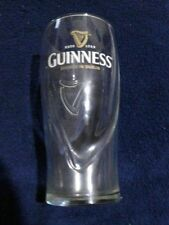 GLASSES- Guinness embossed beer 20 oz Pub tulip glass harp print lot of 6 new