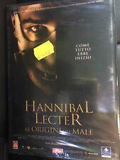 HANNIBAL LECTER LE ORIGINI DEL MALE DVD VERSIONE NOLEGGIO