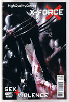 X-FORCE : SEX and VIOLENCE #1, VF, Wolverine, 2010, more Wolverine in our store
