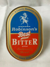 Robinson's Best Bitter Pump Handle Plaque, Vintage, New Old Stock, Perfect