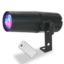 American DJ PINSPOT LED QUAD DMX 8-Watt Quad Colore Inc Remote