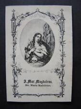Heiligenbild  S. MAGDALENA - holy card , santino , image pieuse   (#OS1#)
