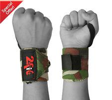 2FIT power haltérophilie poignet grip support enveloppe gym entraînement fist courroies camo