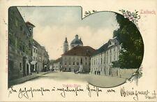 Laibach Vodnik-Platz -Lublana Ljubljana  Lubiana-Krakau Kraków ca. 1903