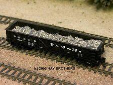 Hay Bros LOOSE ALUMINUM LOAD - Fits DIMI-TRAINS & INTERMOUNTAIN GSC Gondolas