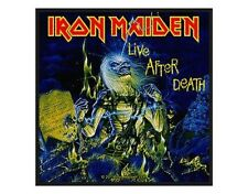 IRON MAIDEN live after death 2011 - WOVEN SEW ON PATCH official (sealed)