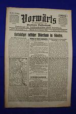 VORWÄRTS (15. September 1915): Hartnäckiger russischer Widerstand im Nordosten