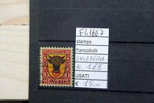 FRANCOBOLLI SVIZZERA USATI N°168 (F41667)