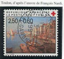 STAMP / TIMBRE FRANCE OBLITERE N° 2733 VUE DU PORT TOULON