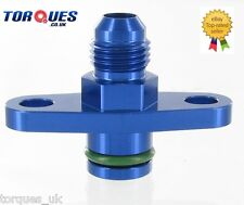 AN -6 (-6 JIC AN-06) Fuel Rail Adapter For Mitsubishi Lancer Evo 1-9 and 3000GT