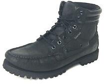 Timberland Oakwell Black 7 Eye Moc Toe Boot 38577 Size US.10 EUR.43 UK.9.5