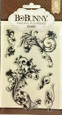 BO BUNNY CLEAR STAMPS ~FLOURISH CODE 7310179