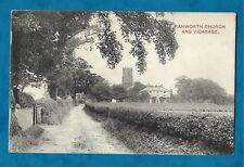1910 PC RANWORTH CHURCH AND VICARAGE, NORFOLK