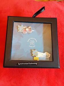 London Olympics 2012 - 2 Pin Box Set - Synchronised Swimming