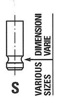 FRECCIA Auslassventil R6371/RNT für MAZDA MORGAN FORD VOLVO TRANSIT FOCUS 2 MAX
