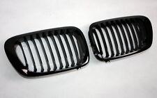 calandre pour BMW E46 3er Cabriolet Coupé 99-02 noir brillant noir brillant