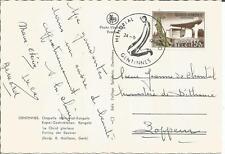 Belgium 1967   Memorial Gentinnes Kongolo  Koning der Eeuwen  Mailleux  Postcard