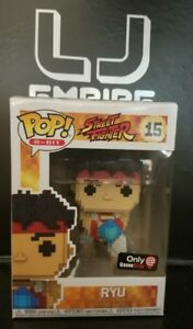 8 Bit Ryu - GameStop Mystery Box Funko Pop! Figure #15