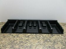 2014 Monopoly Board Game Replacement Parts Pieces Black Money Tray Holder Only