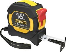 16Ft/5m DuaLock Tape Measure | 1-Inch Wide Blade with Nylon Coating, Matte Finis
