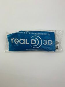Real D 3D Glasses - Adult Size Passive Movie Theater 3-D Brand New In Package