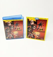 The Incredibles (Blu Ray, Dvd, 2011, 4-Disc Set) [2004] w/ Slipcover